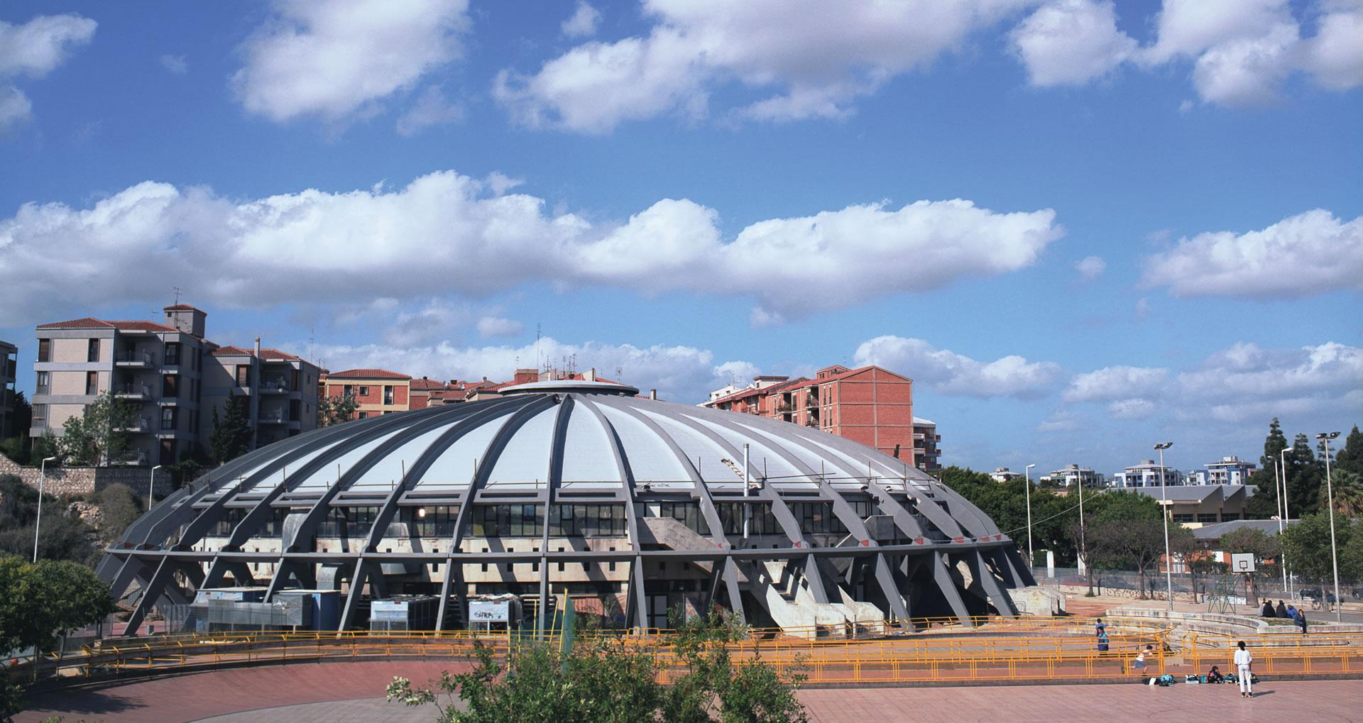 Palazzo dello Sport del Comune di Cagliari - Luigi Masciotta